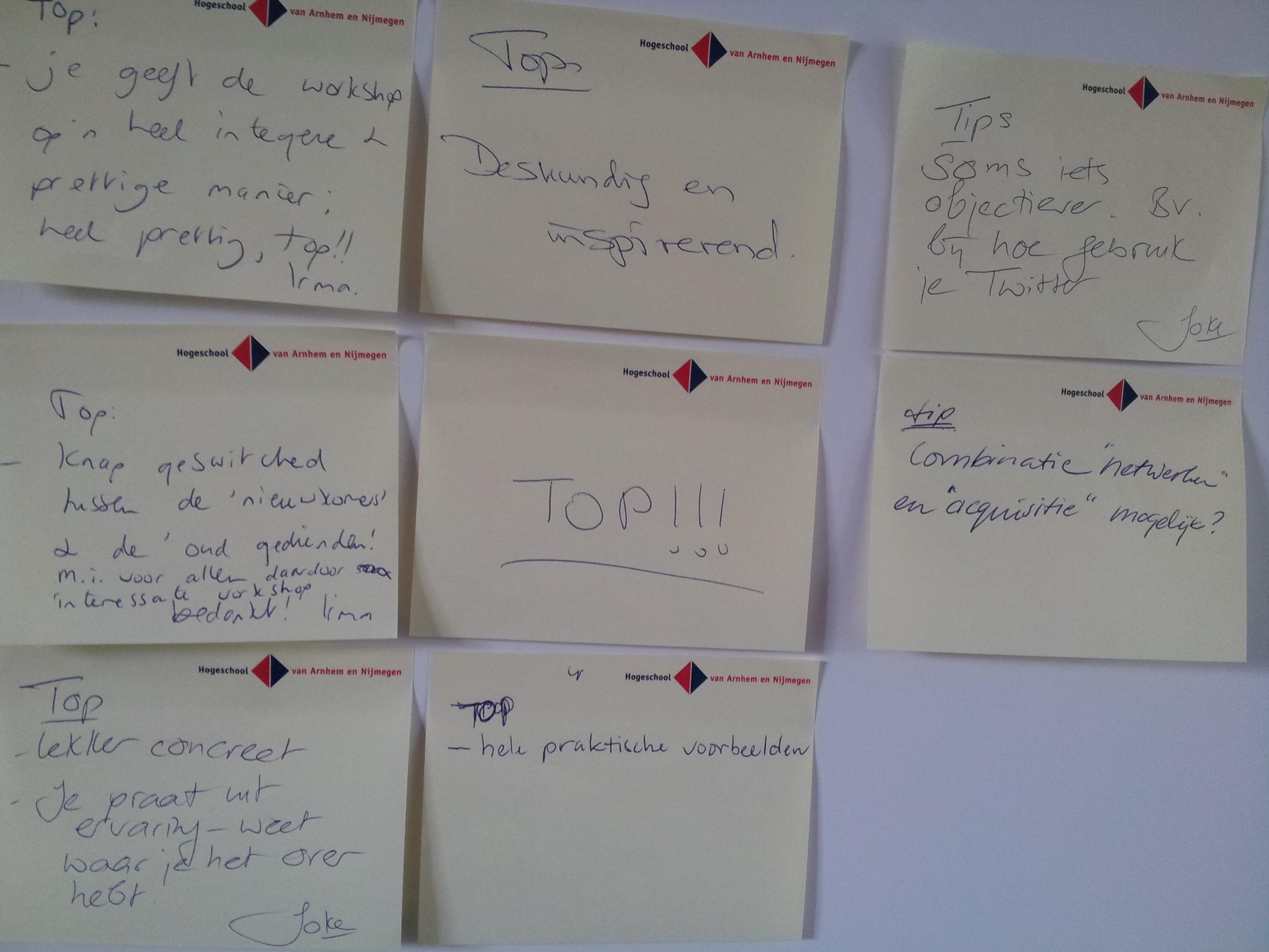 Netwerken en Acquisitie FNV Zelfstandigen workshop