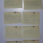 Details opbouwende feedback Jubel muur n.a.v. de workshop acquisitie i.s.m H4, HAN en FNV Zelfstandigen