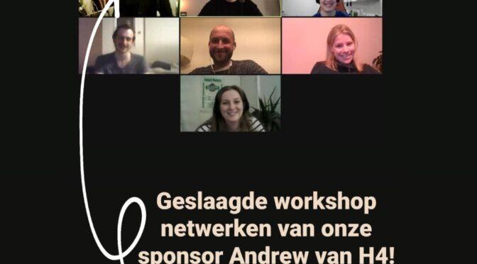 Hastu Zoom H4 online workshop netwerken studenten
