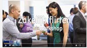 Zakelijk flirten workshop